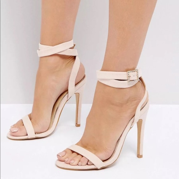 d4a3bbd5d51 Truffle Collection Barely There Sandals NEW